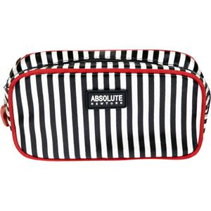 Absolute New York - Trousses à maquillage - Mono Stripe Satin Cosmetic Bag