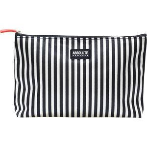 Absolute New York - Wash bags - Mono Stripe Satin Cosmetic Bag