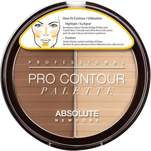 Absolute New York - Teint - Pro Contour Palette