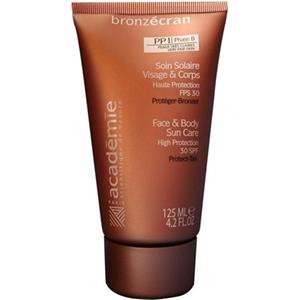 Académie - Bronzecran - Face & Body Sun Care PP1 Phase B SPF30