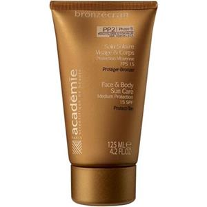 Académie - Bronzecran - Face & Body Sun Care PP2 Phase B SPF 15