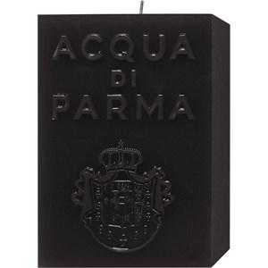 Acqua di Parma - Kerzen - Schwarze Cube Candle Ambra