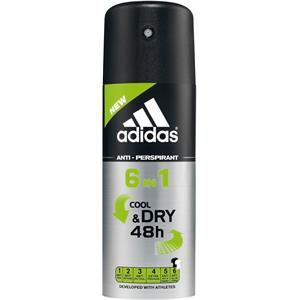 adidas - Functional Male - 6 in1 Cool & Dry 48 h Deodorant Spray