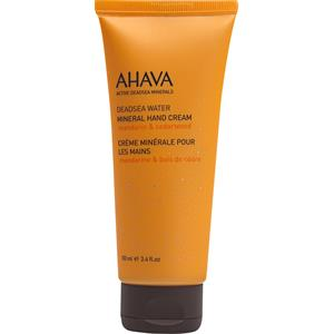 Ahava - Deadsea Water - Mineral Hand Cream - Mandarin & Cedarwood