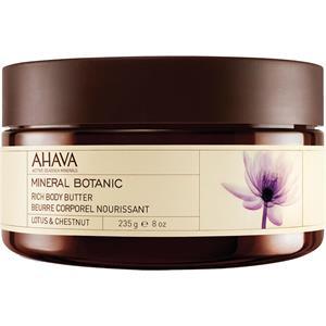 Ahava - Mineral Botanic - Lotus Blossom & Chestnut Body Butter