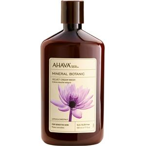 Ahava - Mineral Botanic - Lotus Blossom & Chestnut Shower Cream