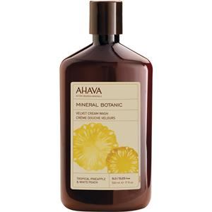Ahava - Mineral Botanic - Tropical Pineapple & White Peach Shower Cream