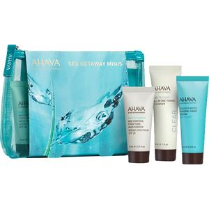 Image of Ahava Geschenke & Sets Sets Sea Getaway Minis Age Control Even Tone Moisturizer Broad Spectrum SPF 20 15 ml + All In One Toner Cleanser 30 ml + Mineral Water Hand Cream Sea Kissed 20 ml 1 Stk.