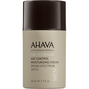 Ahava - Time To Energize Men - Age Control Moisturizing Cream SPF 15