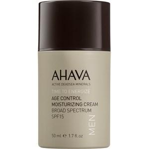Ahava - Time To Energize Men - Age Control Moisturizing Cream SPF 15