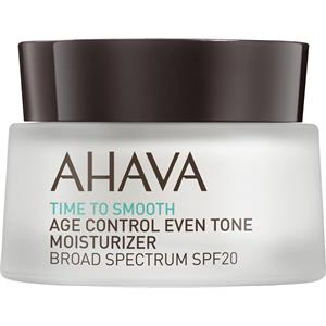 Ahava - Time To Smooth - Age Control Even Tone Moisturizer Borad Spectrum SPF 20