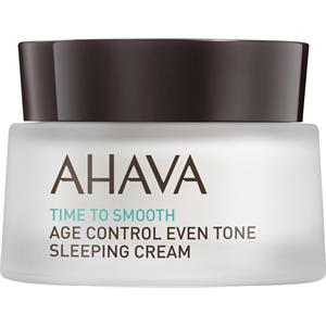 Ahava - Time To Smooth - Age Control Even Tone Sleeping Cream