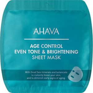 Ahava - Time To Smooth - Brightening Sheet Mask