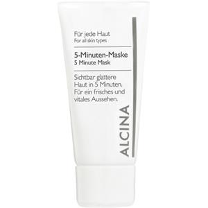 Alcina - All skin types. - 5 Minute Mask
