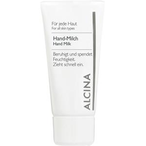 Alcina - All skin types. - Hand Milk