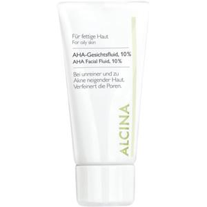 Alcina - Oily to combination skin - AHA facial fluid 10%