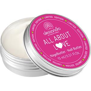 Alessandro - All About Love - Nagelbutter with Kisses