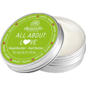 Alessandro - All About Love - Nagelbutter with Love