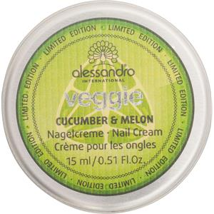 Alessandro - Hand & Nagelpflege - Limited Edition Nagelcreme Veggie