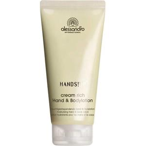 Alessandro - Hands!Up - Cream Rich Hand & Body Lotion