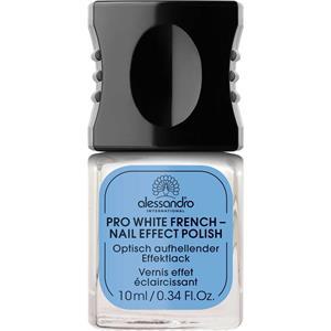 Alessandro Pflege Nail Spa Pro White French