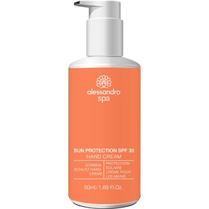Alessandro - Spa - Sun Protection Hand Cream SPF 30