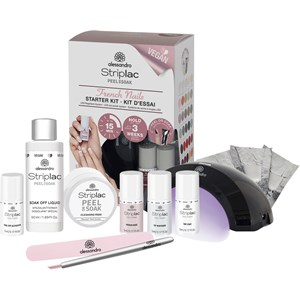 Alessandro - Peel-off nail polish - Striplac Starter Kit