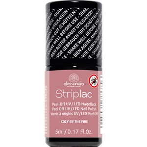 Alessandro - Peel-off nail polish - Iced Fire Striplac Nail Polish