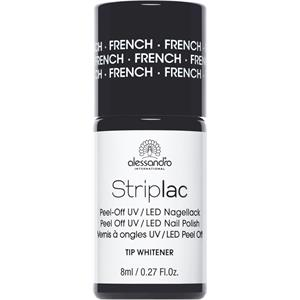 Alessandro - Striplac - Peel-Off UV / LED Nagellack Striplac French Nail Tip Whitener