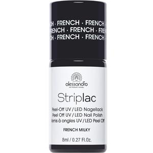 Alessandro - Peel-off nail polish - Striplac French Nail