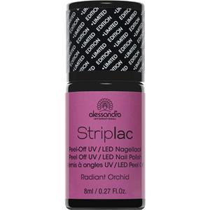 Alessandro - Peel-off nail polish - Striplac Radiant Orchid Nail Polish