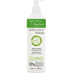 Image of Alyssa Ashley BioLab Aloe Vera & Bambus Body Lotion 300 ml