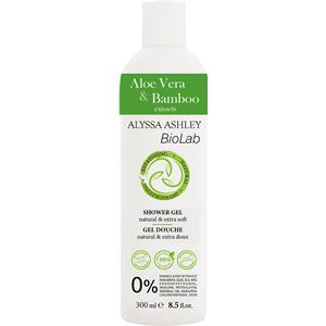 Image of Alyssa Ashley BioLab Aloe Vera & Bambus Shower Gel 300 ml