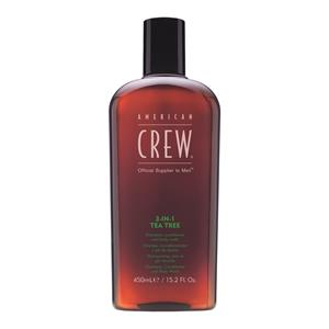 American Crew - Hair & Body - 3 in 1 Tea Tree Shampoo, Conditioner & Body Wash