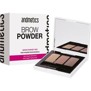 Andmetics - Eyebrows - Brow Powder Trio