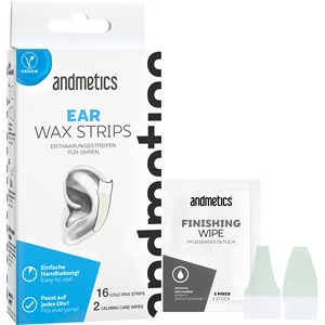 Andmetics - Wax Strips - Ear Stripes Men
