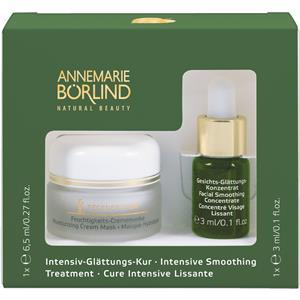 Annemarie Börlind Gesichtspflege Beauty Secrets Intensiv Glättungskur Feuchtigkeits-Crememaske 6,5 ml + Gesichts-Glättungs-Konzentrat 3 ml 1 Stk. 17422820