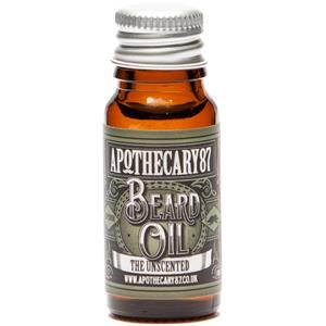 Apothecary87 - Bartpflege - The Unscented Beard Oil
