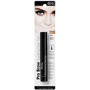 Ardell - Eyebrows - Brow Building Fiber Gel Light Taupe