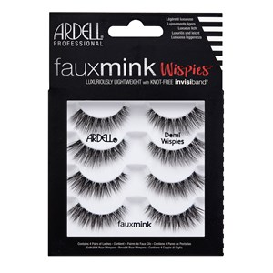Ardell - Eyelashes - Faux Mink Demi Wispies - Multipack