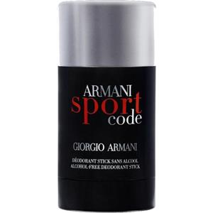 Code Homme Deodorant Stick Sport by Armani   parfumdreams 6cf0288acd0