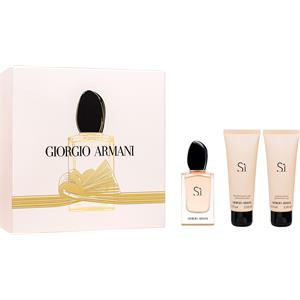 Giorgio Armani Armani Si Geschenkset EDP Spray 50 ml + Shower Gel 75 ml + Body Lotion 75 ml 1 Stk. for women