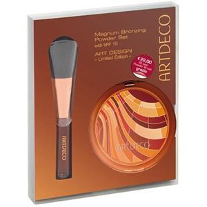 Artdeco - Puder - Magnum Bronzing Powder Set Geschenkset