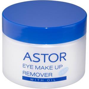 Astor - Øjne - Med olie Eye Make-up Remover Pads