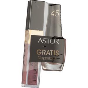 Astor - Nägel - Style Lip Lacquer + Quick & Shine Nagellack