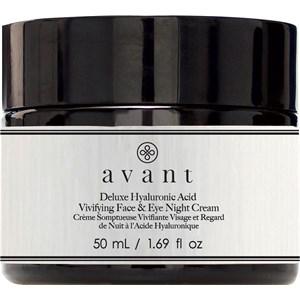 Avant - Age Nutri-Revive - Deluxe Hyaluronic Acid Vivifying Face & Eye Night Cream
