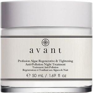 Avant - Age Protect + UV - Profusion Algae Regenerative & Tightening Anti-Pollution Night Treatment