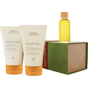 Image of Aveda Body Feuchtigkeit Beautifying Body Set Hand Relief Moisturizing Creme 125 ml + Beautifying Body Cleanser 125 ml + Beautifying Composition Oil 30 ml 1 Stk.