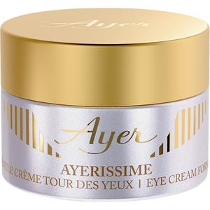 Ayer - Ayerissime - Eye Cream Formula