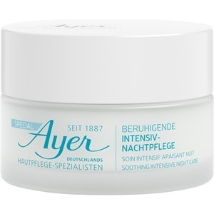 Ayer - Speciale - Soothing Intensive Night Care
